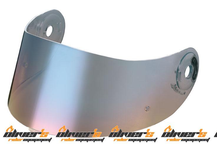 Vizieră Xlite X601/602/701/N94 Albastru metalizat convex