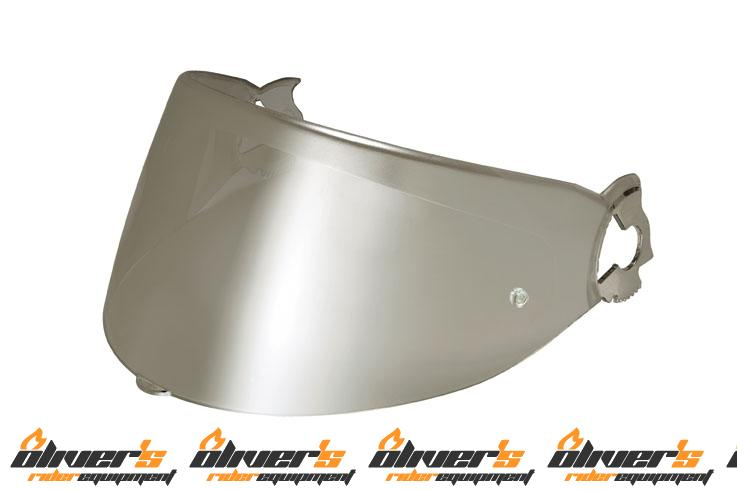 Vizieră Nolan N102/N100E/X1001/X1002 Argintiu metalizat